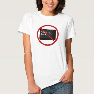 Anti Caps Lock Shirt