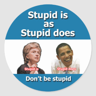 Anti Clinton Obama Stickers