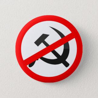 Anti-Communism 6 Cm Round Badge