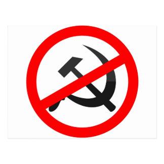 Anti-Communism Postcard