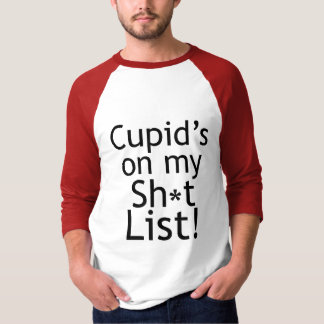 Anti Cupid Anti-Valentines T-shirts