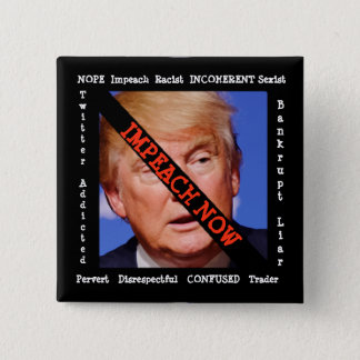 Anti Donald Trump Button