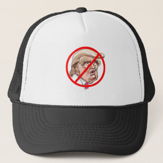 anti donald trump trucker hat