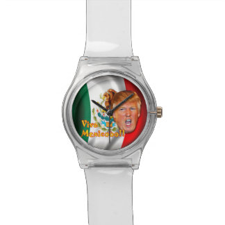 Anti-Donald Trump Viva Mexico wrist watch. Watches