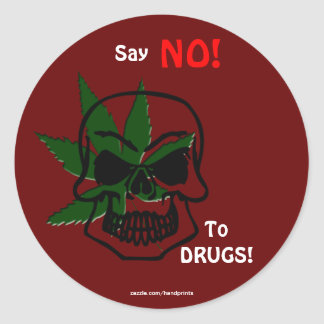 Anti-Drug Campaign Promotional Stickers