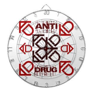 anti drug dartboard