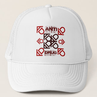 anti drug trucker hat