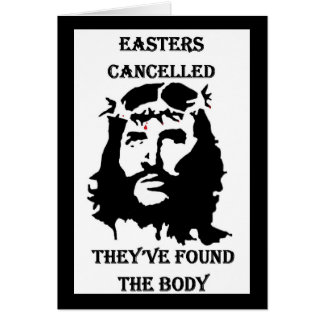 anti Easter Card