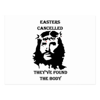 anti Easter Postcard