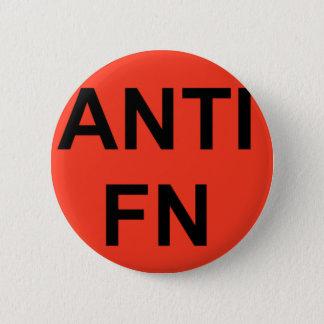 anti fn 6 cm round badge