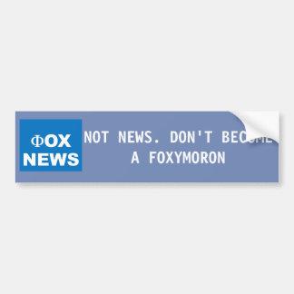 Anti Fox News Sticker