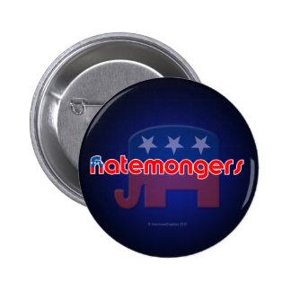 Anti-GOP Hatemongers Button