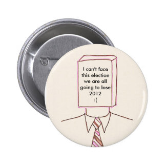 anti government 6 cm round badge