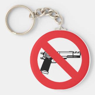 Anti Gun keychain