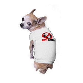 ANTI-HILLARY BOLD - Anti Hillary png.png Pet Shirt