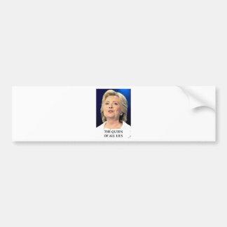 anti hillary bumper sticker
