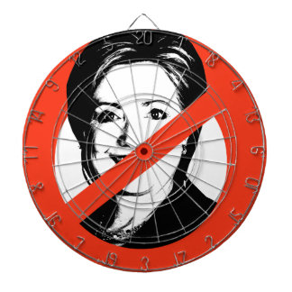 ANTI-HILLARY CLINTON DARTBOARDS