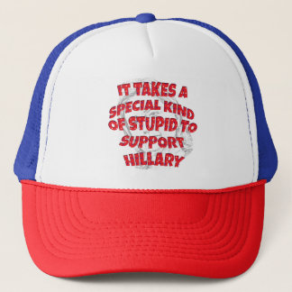 Anti-Hillary for President Caps Hats