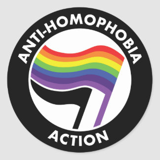 Anti-Homophobia Antifa Sticker