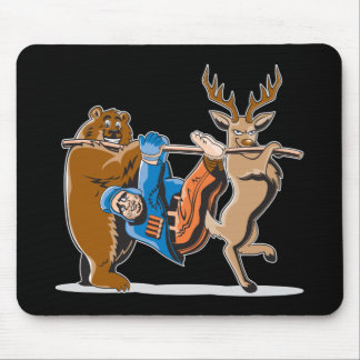 Anti Hunting Animal Revenge Mouse Pad