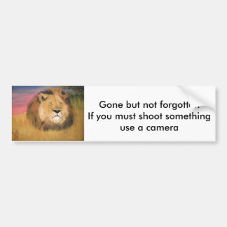 anti-hunting bunper sticker bumper sticker