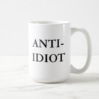Anti-Idiot Mug