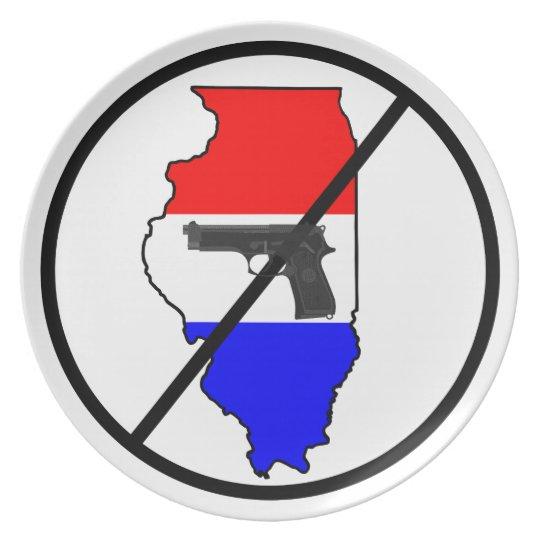 Anti-Illinois Gun Plate