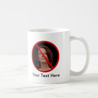 Anti Julia Gillard Basic White Mug