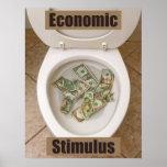 Anti-Keynes Economics Poster