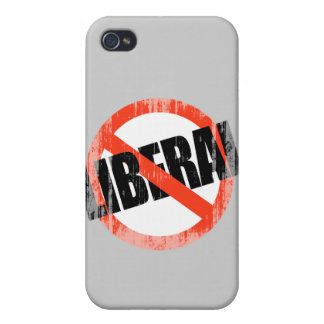 Anti-Liberal (2) Faded.png iPhone 4/4S Cover