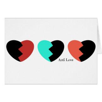 Anti love card