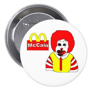Anti McCain Button