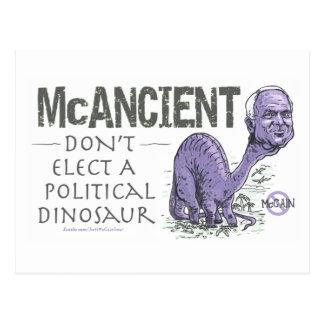 Anti McCain McAncient Postcard