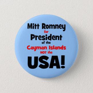 anti Mitt Romney 6 Cm Round Badge