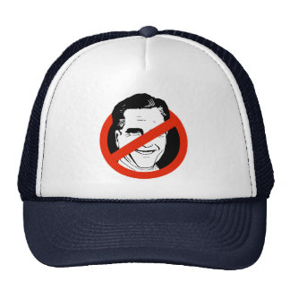 Anti Mitt Romney - Trucker Hats