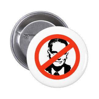 ANTI-NADER: ANTI-Ralph Nader 6 Cm Round Badge