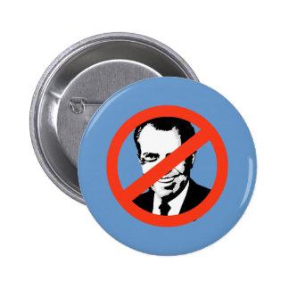 ANTI-NIXON: Anti-Richard Nixon 6 Cm Round Badge