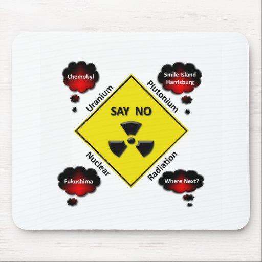 Anti Nuclear Power Logo Mousepad