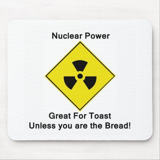 Anti Nuclear Power Mousepad