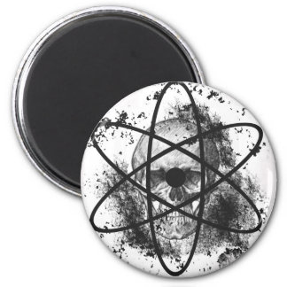 """Anti Nuclear Skeleton""* Magnets"