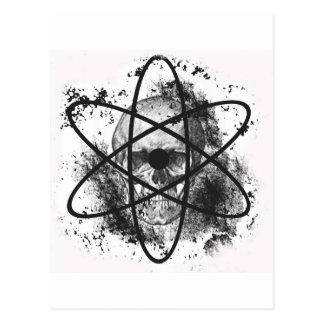 """Anti Nuclear Skeleton""* Postcards"