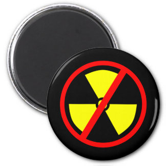 Anti-Nuclear Symbol Refrigerator Magnet