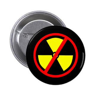 Anti-Nuclear Symbol Pinback Buttons