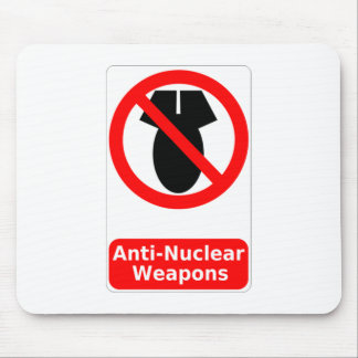Anti-Nuclear Weapons Mousepads