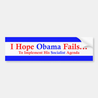 Anti-Obama 1 Bumper Sticker