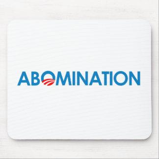 Anti-Obama - Abomination Mouse Pads