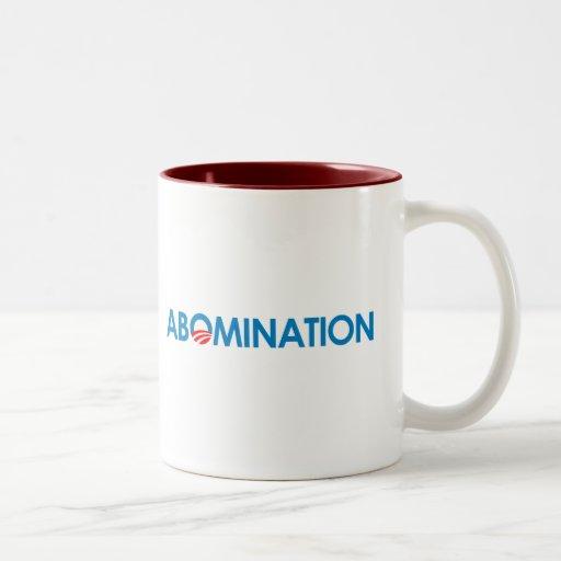 Anti-Obama - Abomination Coffee Mugs