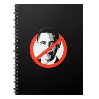 Anti-Obama - Anti-Barack Obama Spiral Note Books
