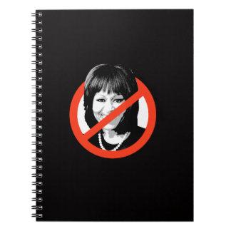 Anti-Obama - Anti-Michelle Obama Spiral Notebooks
