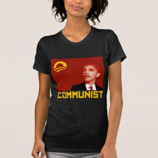 Anti-Obama: Barack Obama Communist Tee Shirts